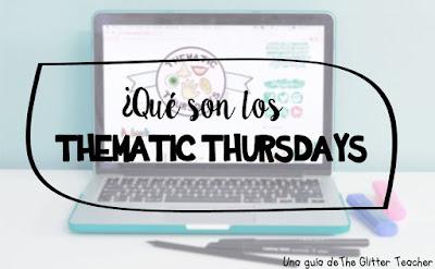 Guía de cómo participar en los Thematic Thursdays - blog hop