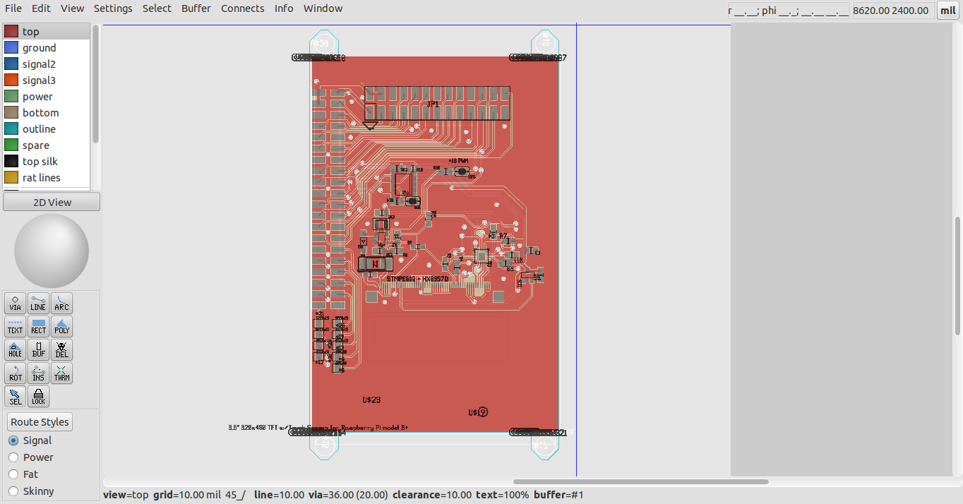 Blog De Vk5hse Converting Eagle Brd Layouts To Geda Pcb An Board Example Schematic The Workflow Was Tested And Rnds S Expression Import Module Refined With Another This Time From Adafruits Git Repo Namely