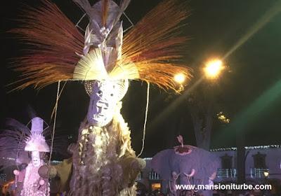 Tlahualiles de Sahuayo en el Nacimiento Monumental de Pátzcuaro