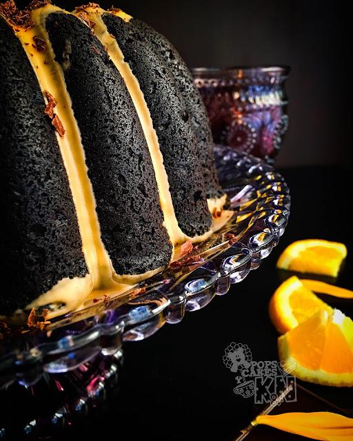 Choco-naranja bundt cake