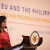 """We value your Friendship- Robredo addressing the EU"