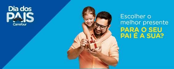Carrefour promove campanha para o Dia dos Pais