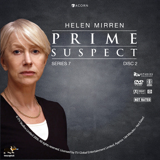 Prime Suspect 7: The Final Act Disc 2 DVD Label