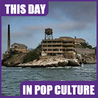 Alcatraz Island took in its first inmates on August 11, 1934.