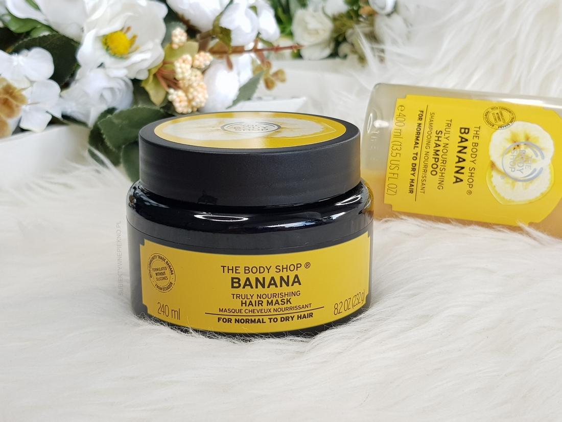 ULUBIEŃCY LIPIEC 2018 - szampon i maska bananowa The Body Shop