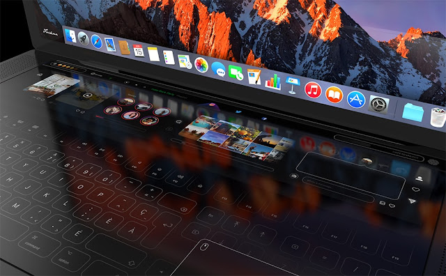 concepto-MacBook-pro-dise%25C3%25B1o-teclado-pantalla-t%25C3%25A1ctil-03 A brutal concept of the MacBook that includes a complete design of keyboard as touch screen templates