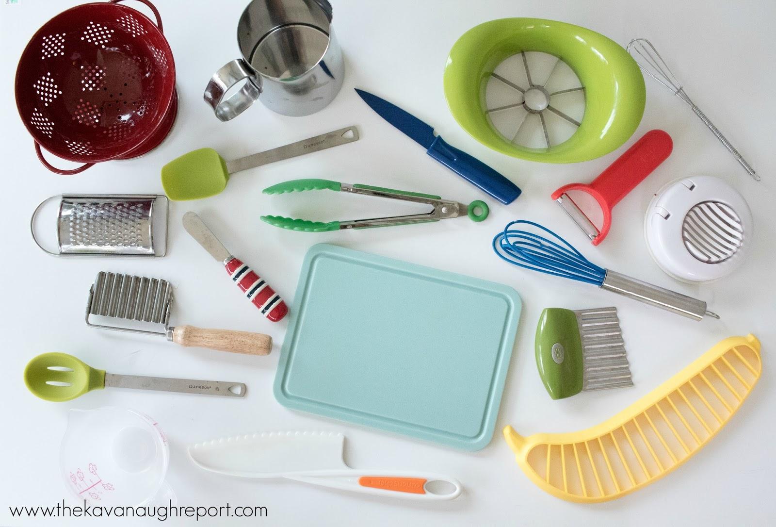 Our Montessori Home Kitchen Tools