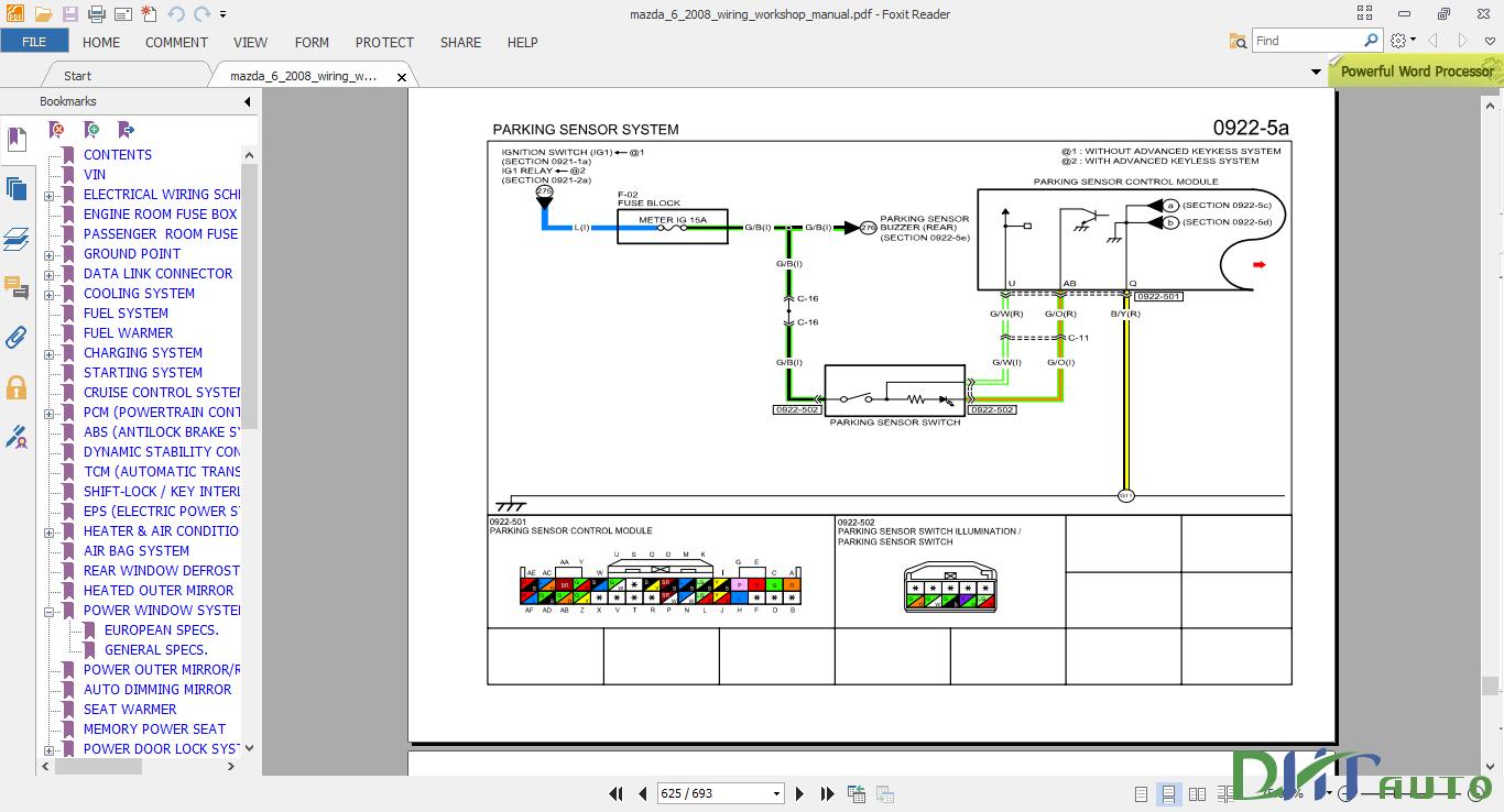 2008 mazda 6 wiring diagram    mazda       6       2008       wiring    workshop manual automotive library     mazda       6       2008       wiring    workshop manual automotive library