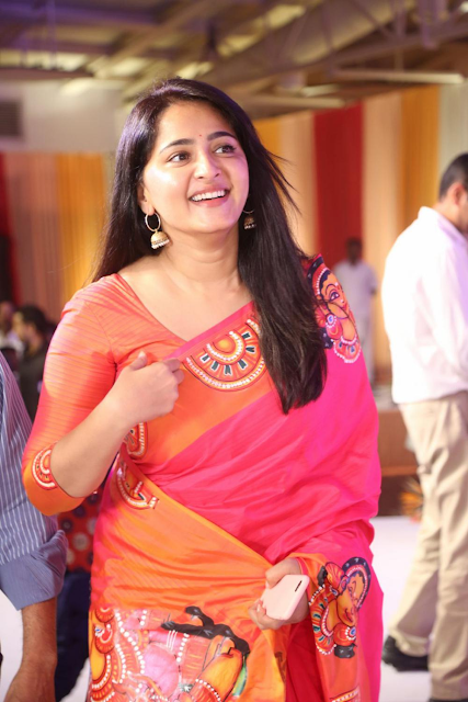 Anushka Shetty at Shyam Prasad Reddy's daughter Maithri's wedding