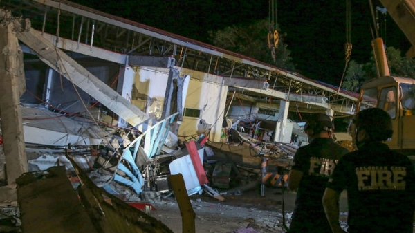 Man loses wife, 2 kids just split second during Luzon earthquake