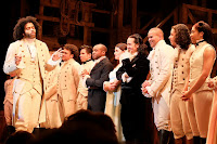 Scene from the play Hamilton