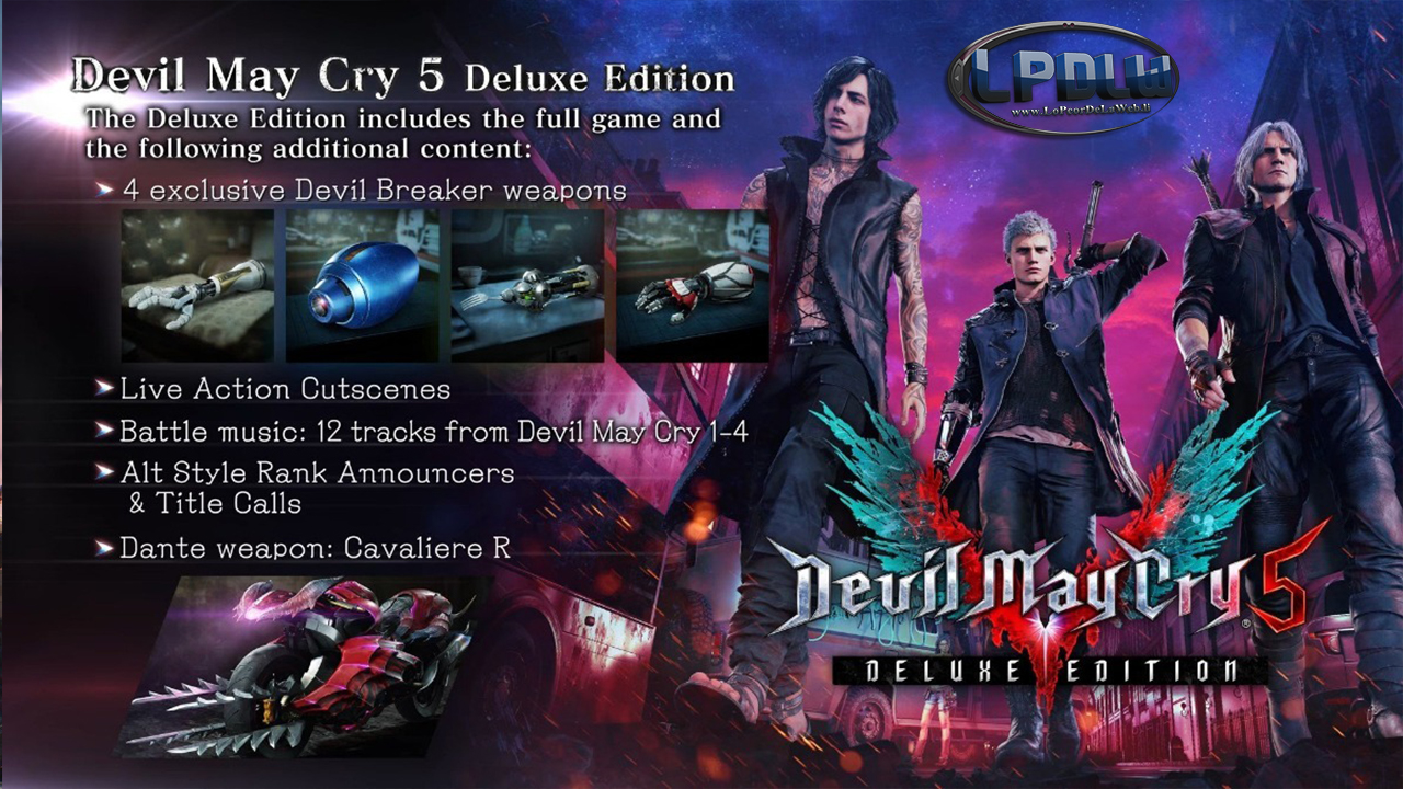 Devil May Cry 5-Deluxe Edition [MULTi12] (PC GAME) [35.6 GB]