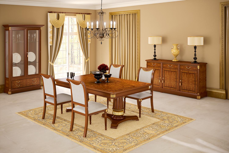 Muebles de Comedor: 3 MESAS CLASICAS PARA DAR ELEGANCIA AL COMEDOR