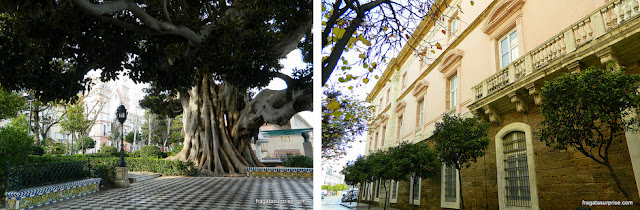 Paseo de Apodaca, Cádiz, Andaluzia