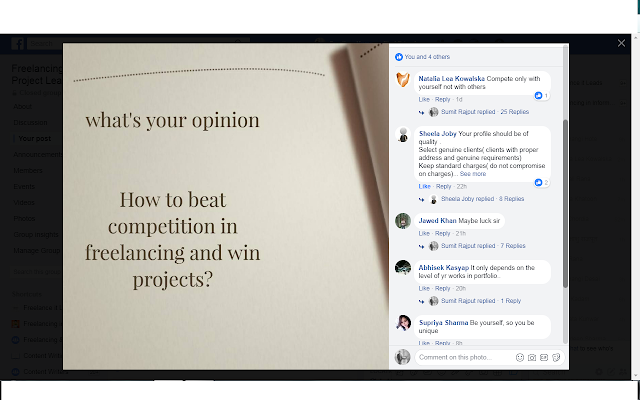 How to Beat the Competition In Freelancing and win projects