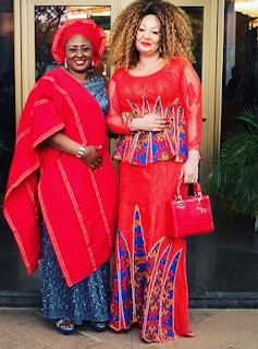 Chantal Biya and Aisha Buhari