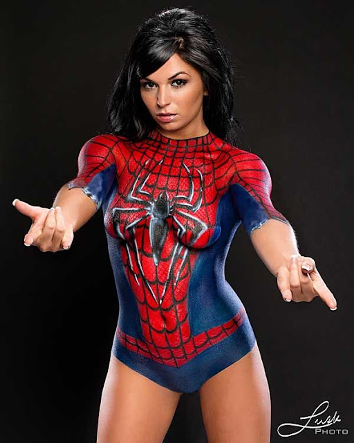 SPIDER WOMAN - COSPLAY