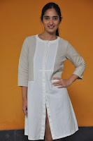 Radhika Cute Young New Actress in White Long Transparent Kurta ~  Exclusive Celebrities Galleries 075.JPG