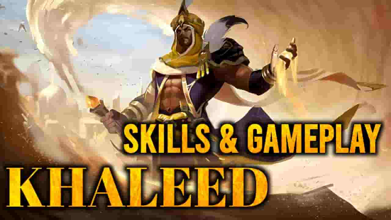 khaleed mobile legends,khaleed skills, khaleed gameplay