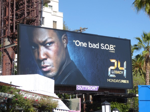 One bad SOB. 24 Legacy billboard