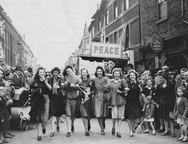 Victory in Europe (VE) Day, Tuesday 8 May 1945