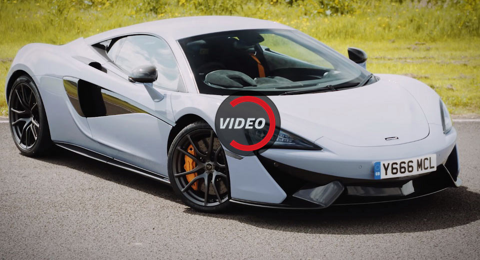 How Much Faster Is A Track Pack Equipped Mclaren 570s On