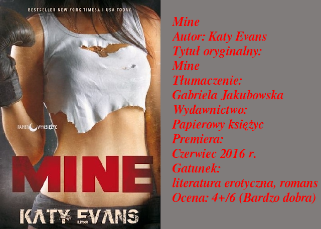 "Remington Tate, znowu u mnie! ""Mine"" Katy Evans"