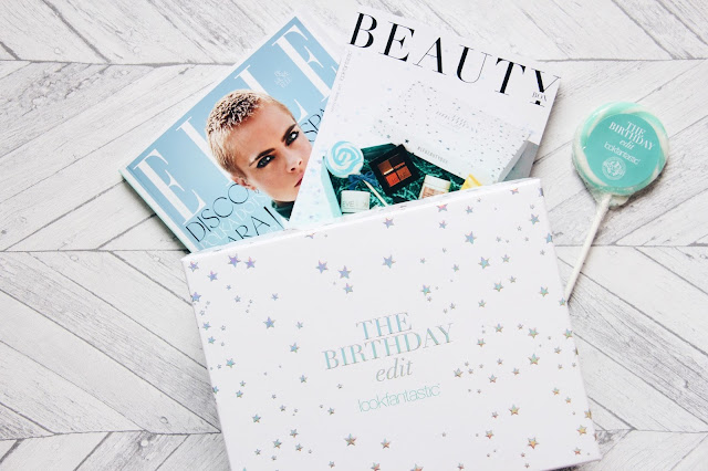 LookFantastic Box, septembre 2017 - The Birthday Edit