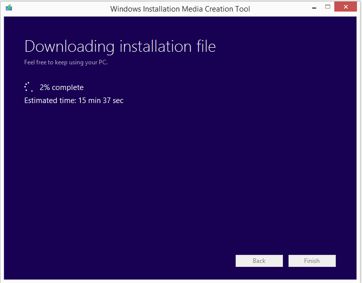 Create installation media for Windows 8.1 3