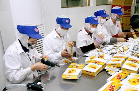 Tuyển 15 nữ thực tập sinh chế biến thực phẩm hợp đồng 01 năm