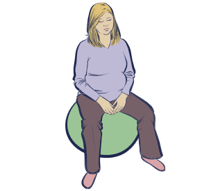Comfort Positions during Labor