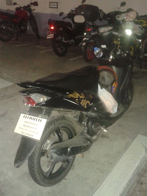 Yamaha Mio Sporty Specifications Image back basement
