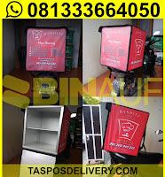 tas delivery makanan, box delivery motor bandit jogja