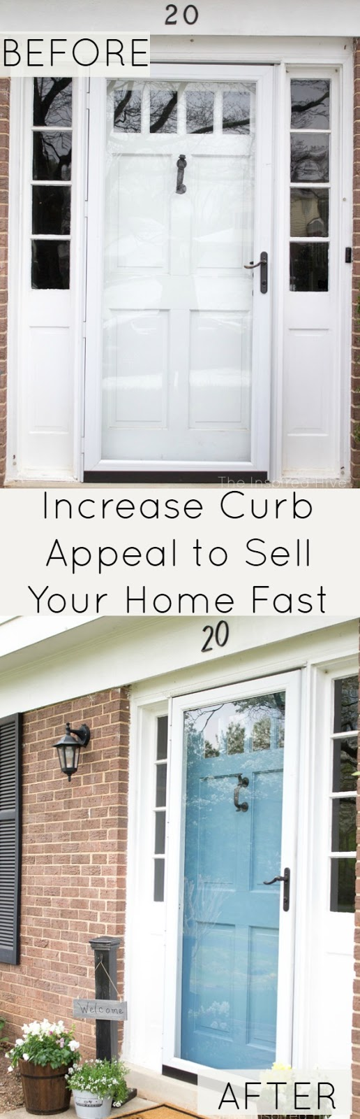 Increase your curb appeal to sell your home the inspired hive Home selling four diy tricks to maximize the curb appeal