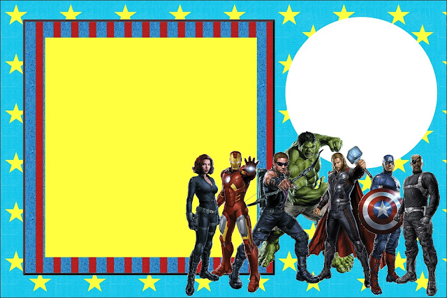 Avengers Free Printable Invitations Oh My Fiesta! in english
