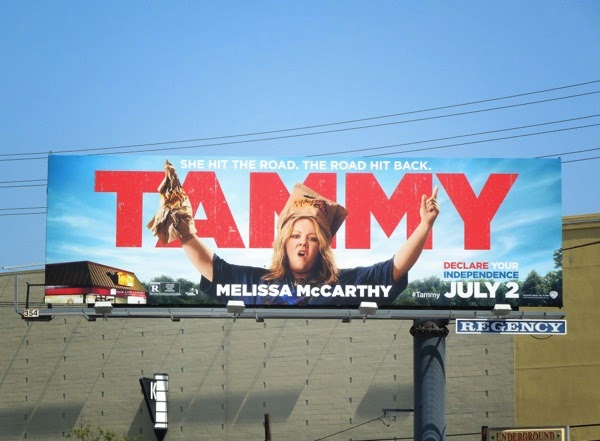 Melissa McCarthy Tammy movie billboard