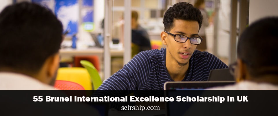 International Excellence Scholarship at Brunel University