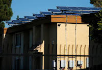 Solar panels are shown at a MASH-funded housing project in National City, California. (Credit: Reuters file photo) Click to Enlarge.
