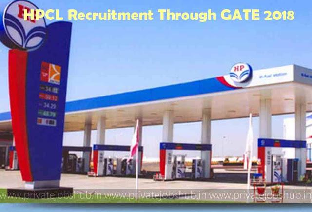 HPCL Recruitment Through GATE