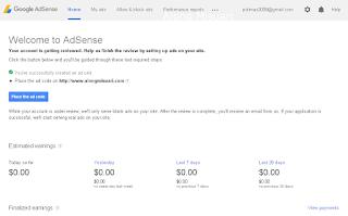 Adsense : Menunggu Keputusan Adsense