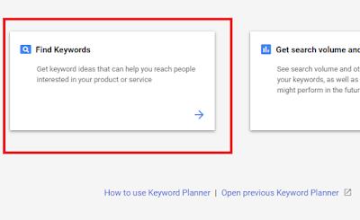 Google Keyword Planner Tool kya hai, Is par account kaise banaye