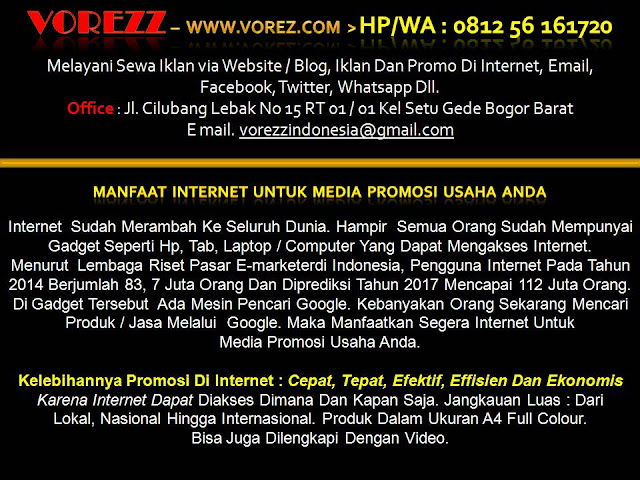 VOREZZ - Jasa Pembuatan Website Bogor, Hp/Wa : 08129, Jakarta,Toko Online,Profesional,Murah, Depok