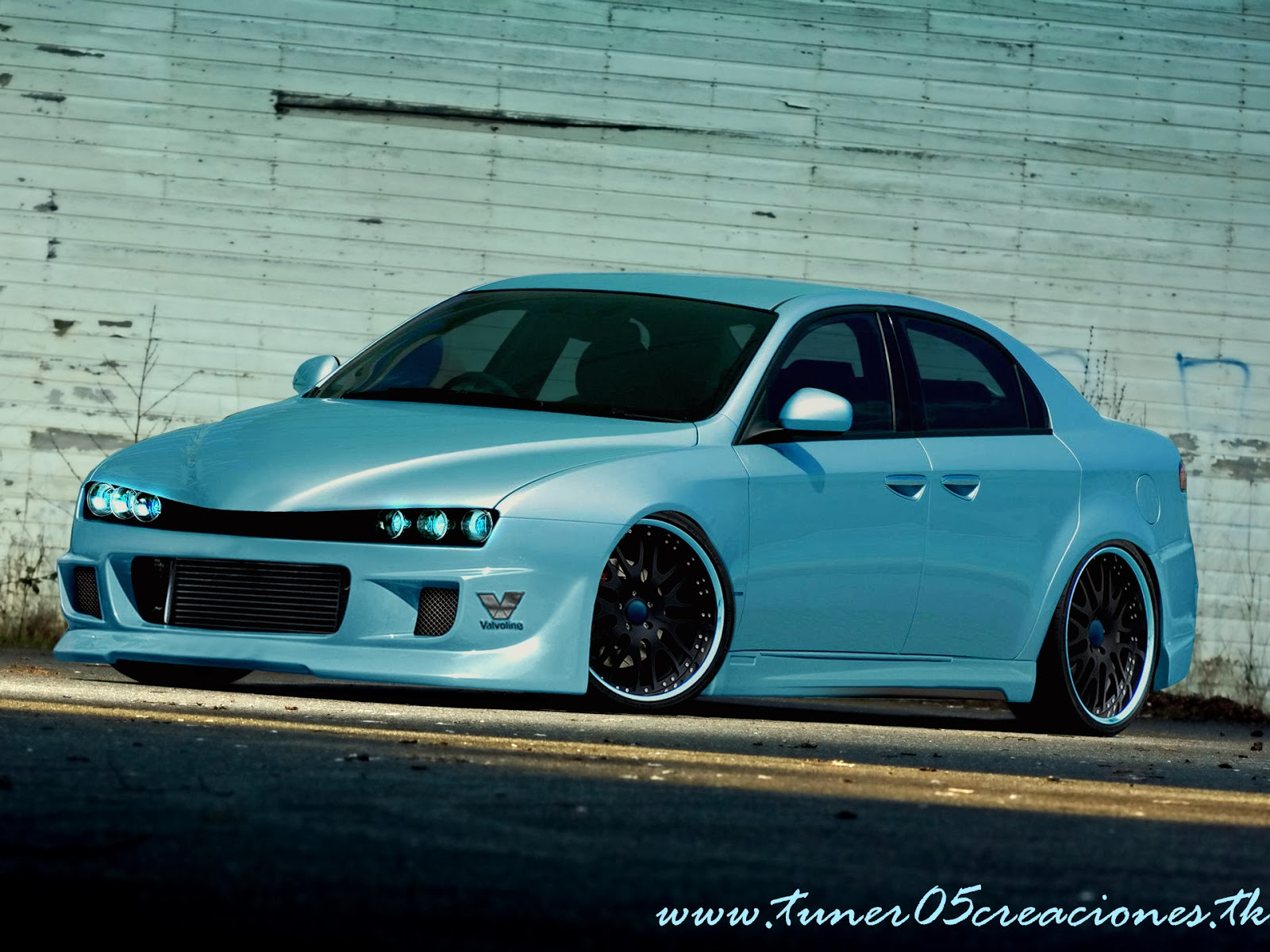 hq engine and car pictures crazy alfa romeo 159 tuning. Black Bedroom Furniture Sets. Home Design Ideas