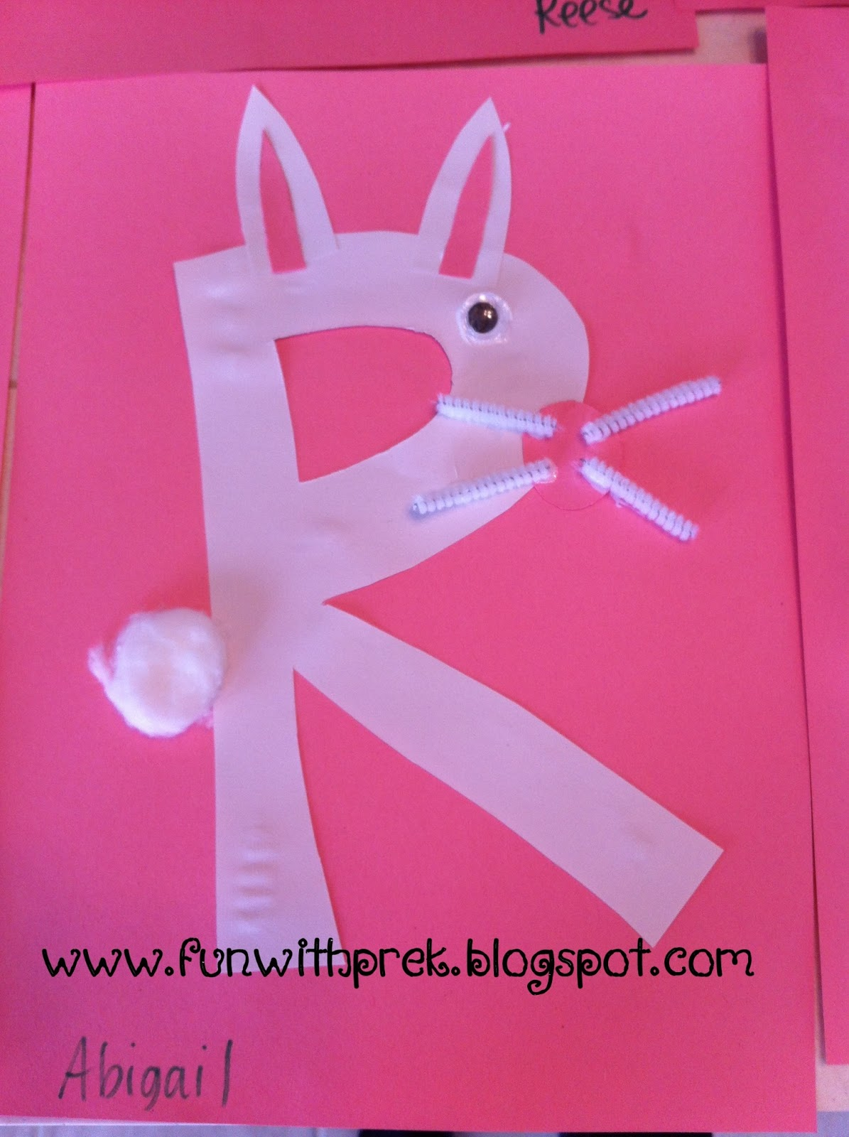 Lil Miss Smartypants R Is For Rabbit