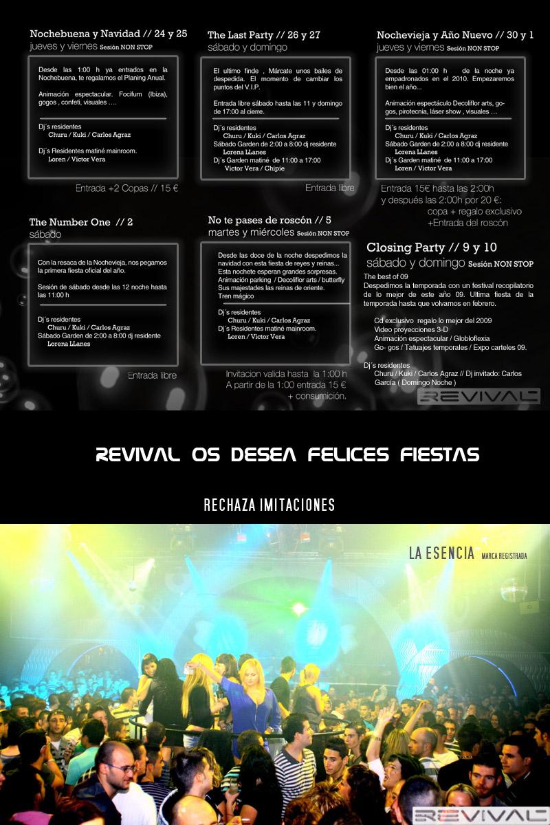 sesiones discoteca revival 2011
