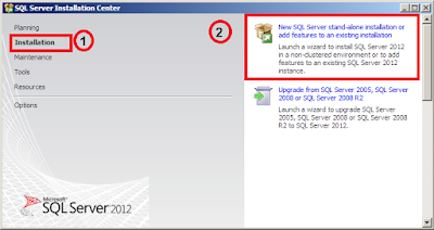 Step by step Installasi SQL Server 2012 Express with Tools