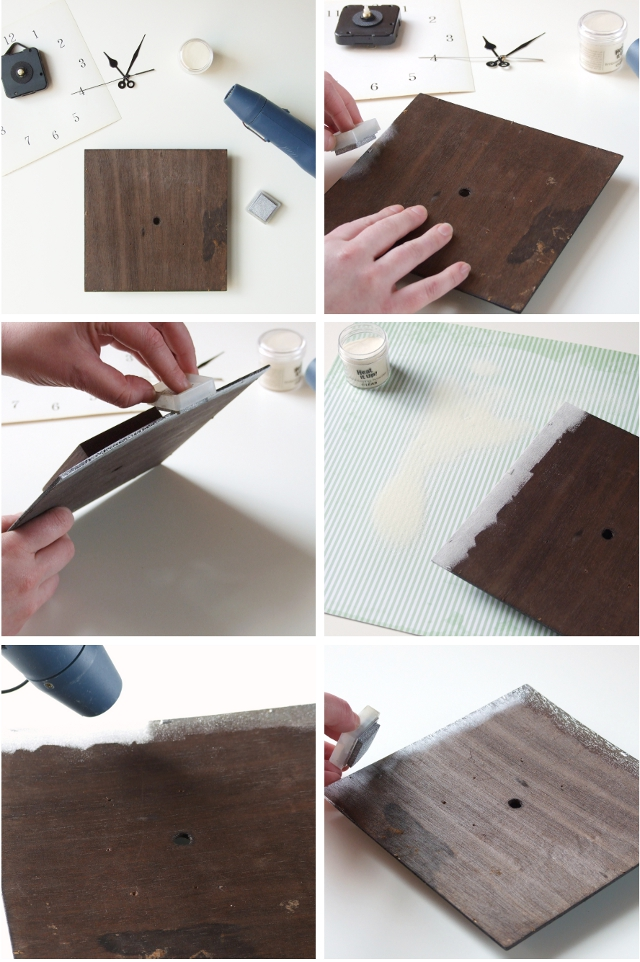 How to upcycle a clock