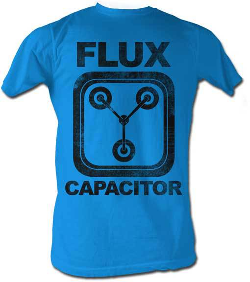 free Back to the Future Flux Capacitor shirt