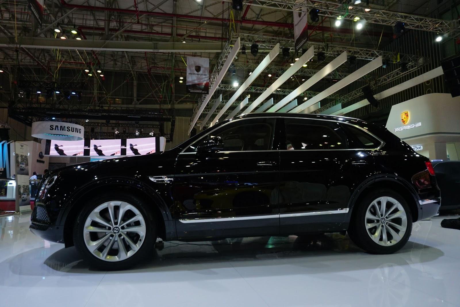 Bentley Bentayga 2016 chắc chắn là ngôi sao lớn nhất của VIMS 2016 năm nay