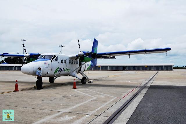Transporte aéreo en Borneo (Malaysia)